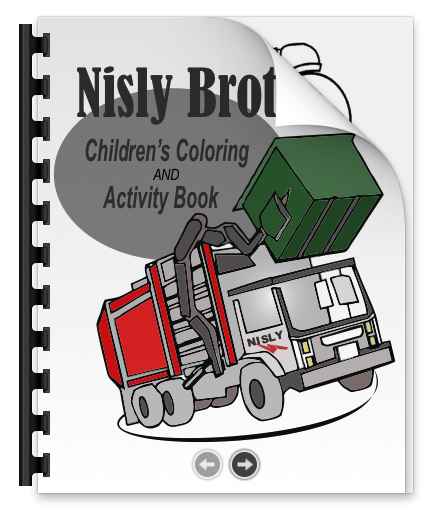 Nisly brothers coloring book