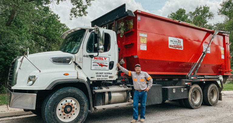 quick dumpster service for junk removal near south hutchinson kansas